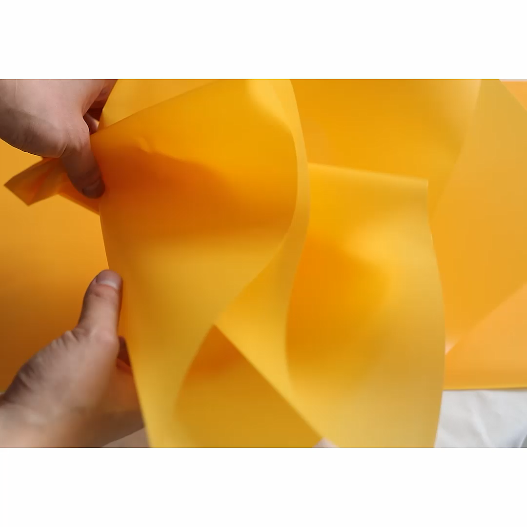High quality Manufacturer Flower Wrapping Paper 50cm*10m plastic flower Waterproof Packing Paper