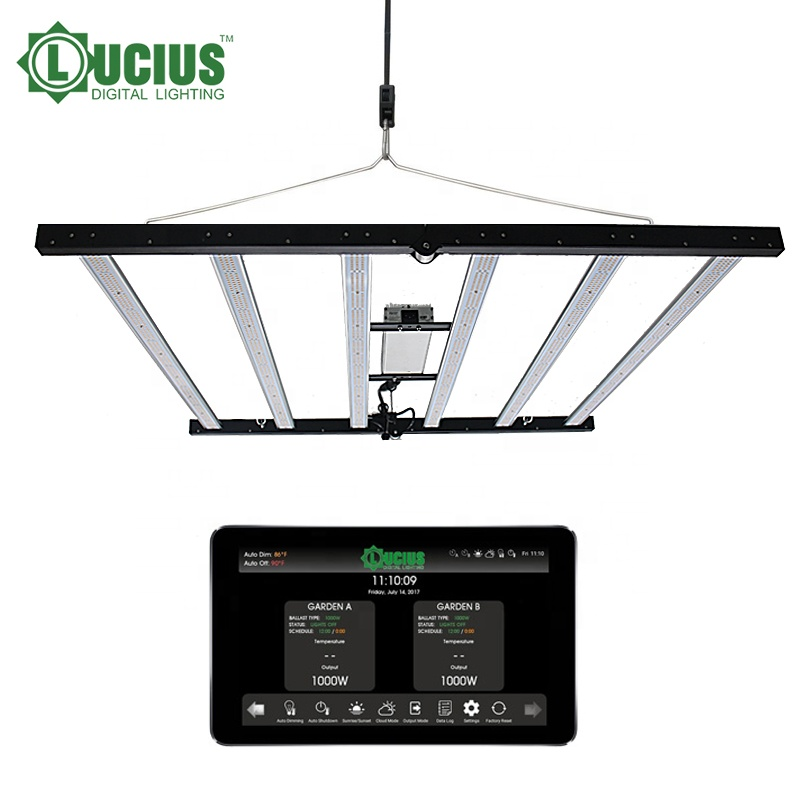 Newest Horticulture 660W LED Grow Light using Best Samsung LM301h and GH LED Grow Light with MeanWell drive