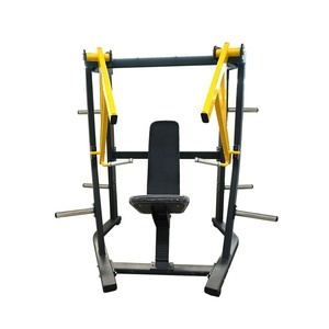 plate loaded gym machine wide chest press/ hammer strength fitness equipment