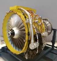 Highly Simulated Turbofan Engine for Aviation Maintenance Teaching Zooming Aviation Model Passenger Plane 1 6 CFM56 Engine Mode