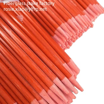 7.0mm fiberglass stake for nursery apple tree