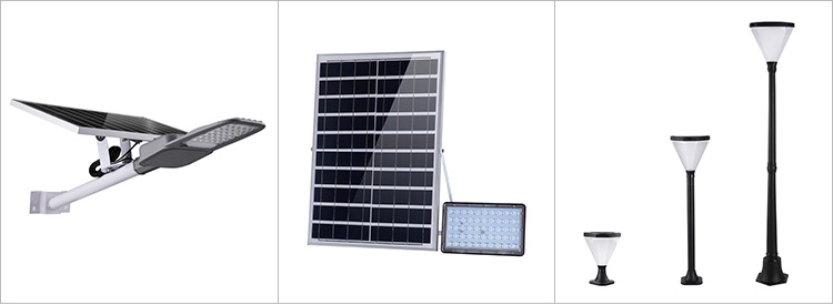 Hot Sale Custom Solar High Pole Outdoor Smart Led Lighting Street Lamp