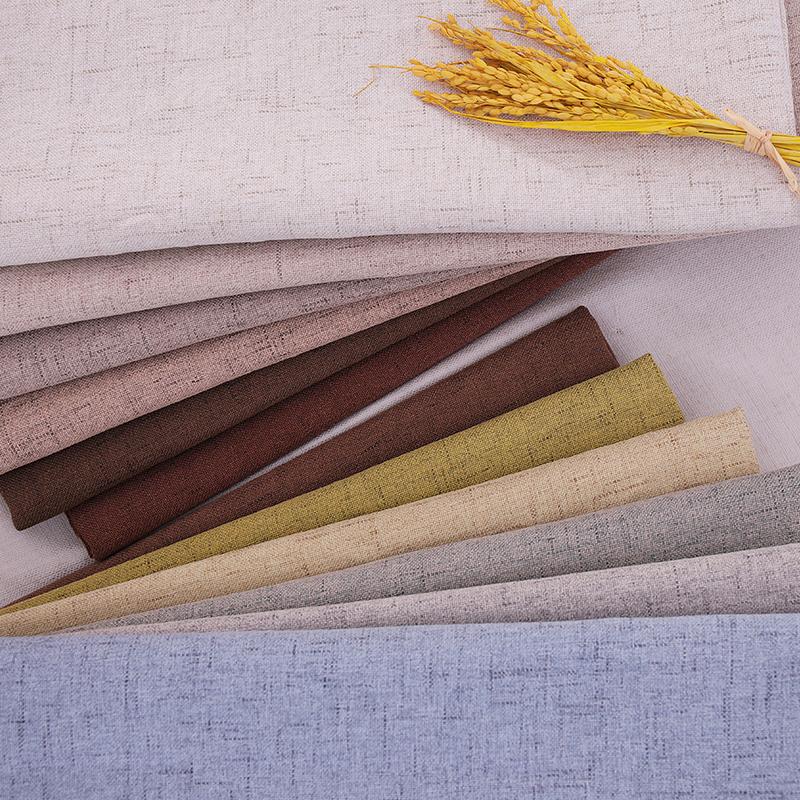 ผ้าลินินผ้าเบาะผ้าวัสดุสำหรับโซฟาขายส่งผ้าสำหรับ DIY