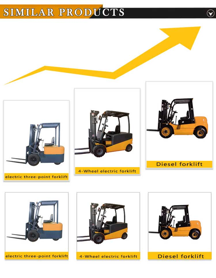 Maximal 3.0ton Professional All-electric four-wheel drive electric forklift truck training prices