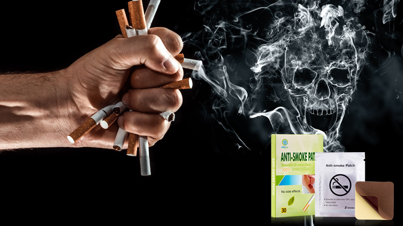 Best quit smoke products  anti smoke nicotine patches