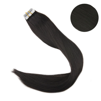 Full cuticle straight Tape in Hair Extensions 100% Human Hair 100g 40Pcs Tape on Hair Skin Weft Machine Made Remy Extensions