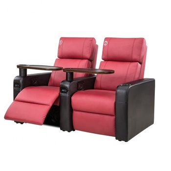 Leather Electric Cinema Reclining Sofa