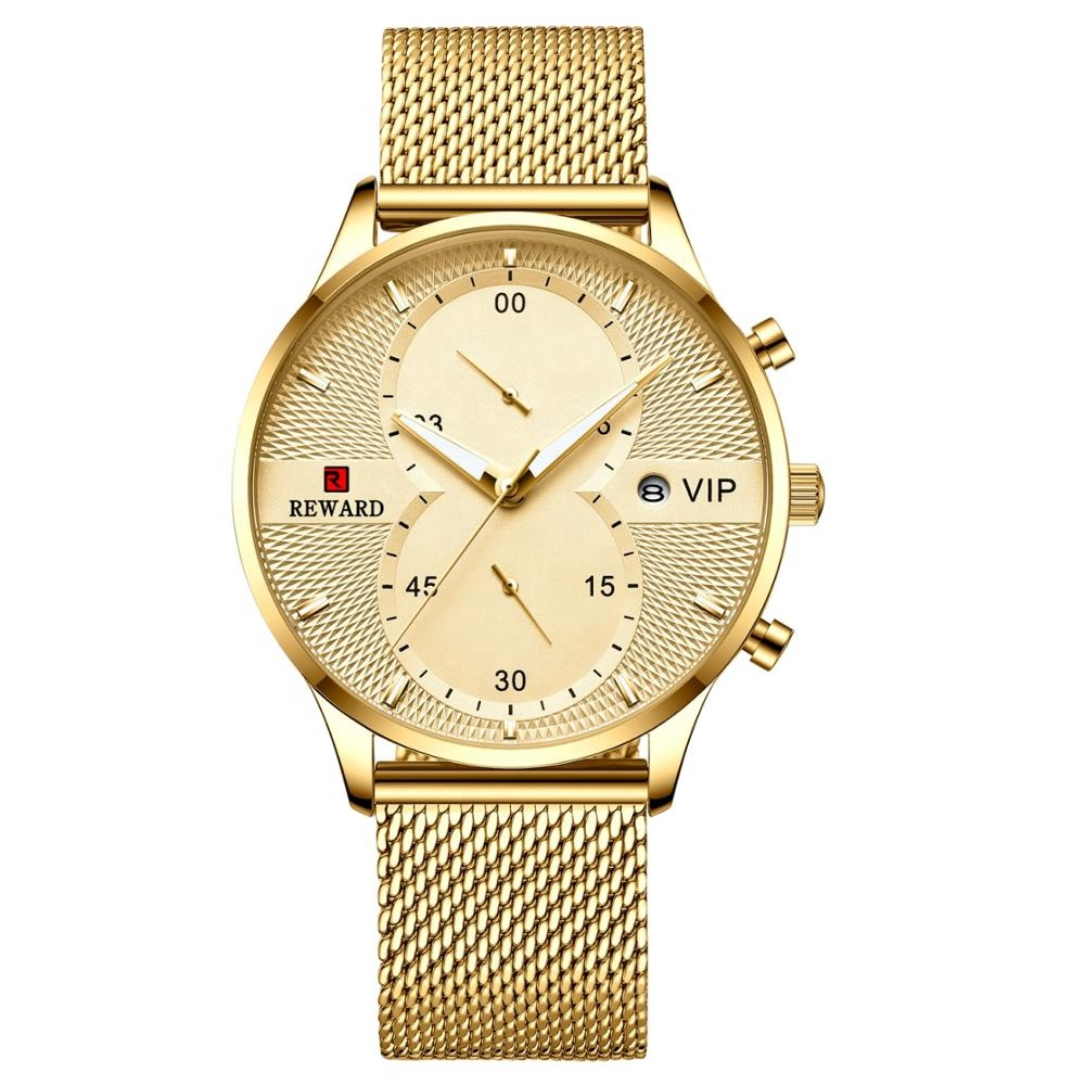 2019 Wholesale <strong>Hot</strong> Men's Watch Luxury Quartz Business Watch