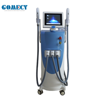 OEM IPL shr hair removal machine Q switched nd yag laser tattoo removal machine