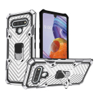 2 IN 1 Kickstand Mobile Phone Case Cell Back Cover For lg k31/k51/stylo 6/harmony 4