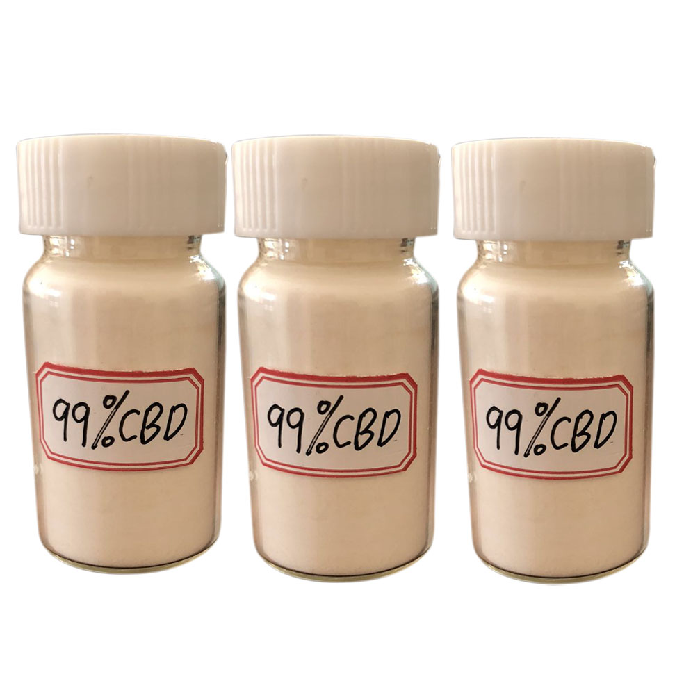 Manufacturer supply pure cannabidiol Hemp extract CBD <strong>powder</strong>/cbd isolate/crystal Decarboxylated Refined