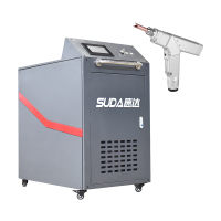 Handheld Laser Welding Machine 1000W 1500W Fiber Handy Laser Welder for Metal Hand Held Gun