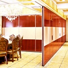 Egood Soundproof sliding folding partition wall door for clamping pakistan lahore banquet hall