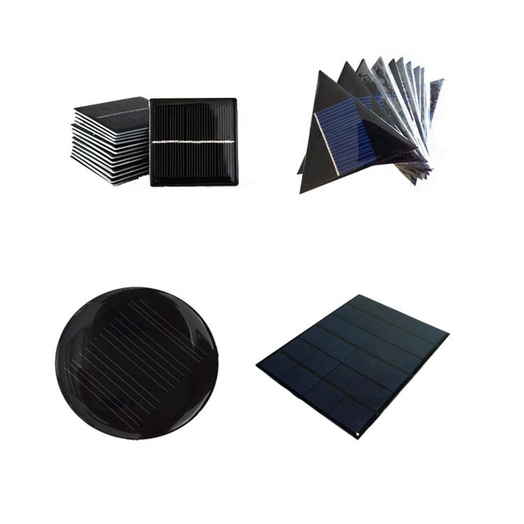 Solar glue dripping panel polycrystalline solar panel 5V 2V solar DIY charging cell board panels