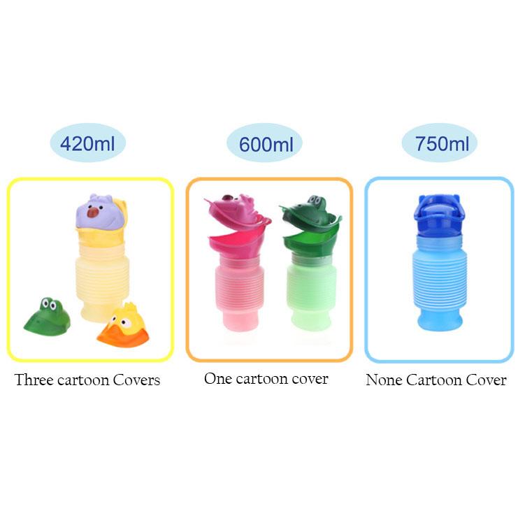 Portable Potty Travel Outdoor Sale Top Toilet Car urinal unisex bottle 1000ml for kids