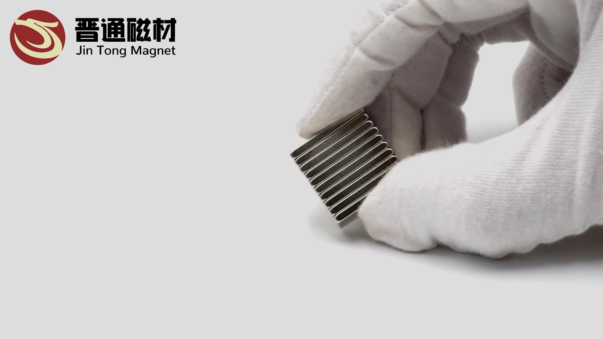 Di grandi dimensioni Più Forte Ndfeb Barra Rettangolare Generatore Elettrico Magneti Permanenti N38 N42 N52 Al Neodimio Magnete di Blocco