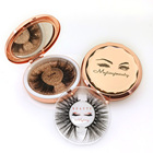 Mytingbeauty Personalized Eyelash Box Premium Bulk Mink Lashes3D False Brand Name Mink Eyelashes With Custom Packaging