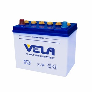 Best Price Korea Brands Dry Charged Lead Acid Car Battery NS70