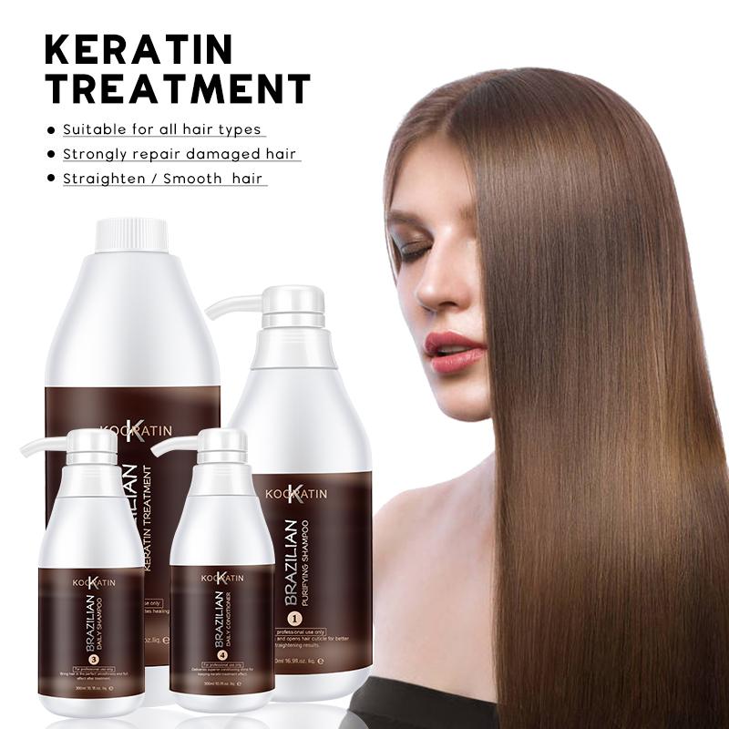 Neue Natürliche Brazilian Silk Keratin Anti Lockiges Haar Mit Keratin Behandlung