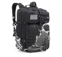 Outdoor Camouflage Military Tactical Waterproof Assault Bag Hiking Wear-resistant Backpack