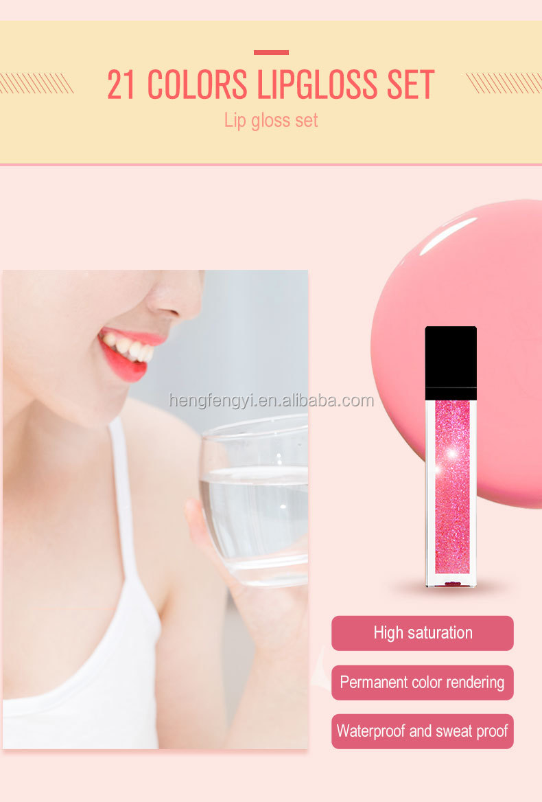 Groothandel Cake Vorm Ontwerp Kids Lipgloss Lipgloss Private Label Make Up Custom Lipgloss Verpakking Lipgloss Leveranciers
