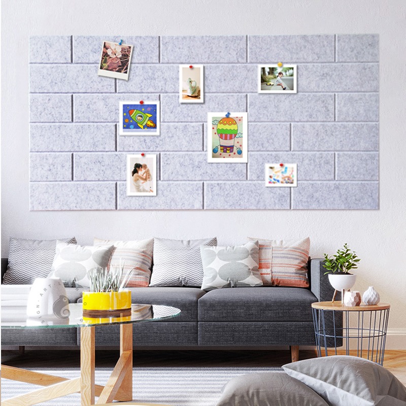 wholesale from factory felt family wall sticker