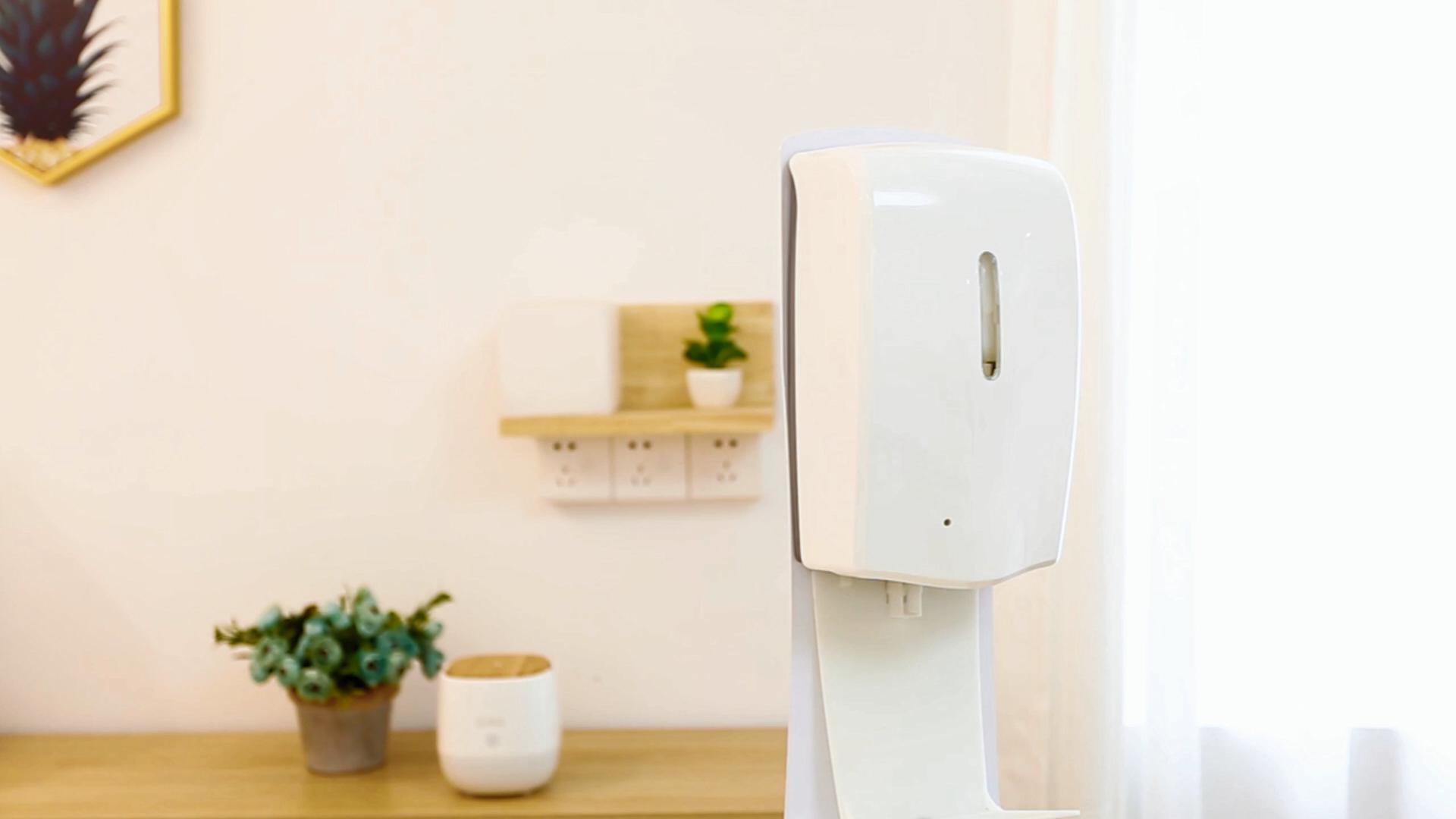 SCENTA personalizada inteligente gratuito jabón en espuma máquina dispensador de pared montado en Gel desinfectante para manos de con Sensor