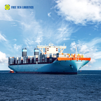 Door to door shipping service International sea export agent sea rates from Shenzhen to USA
