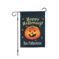 Double Side Custom Decoration Hanging Yard Outdoor Halloween Garden Flags