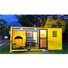 Hot Sale Gym Container House Design Luxury Glass Container Prefabricated Living Houses In Singapore