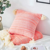 Free Sample Cushion Cover Super Soft Knit Pillow Cover With Fringe Pillowcase,Luxury Cushion Cover