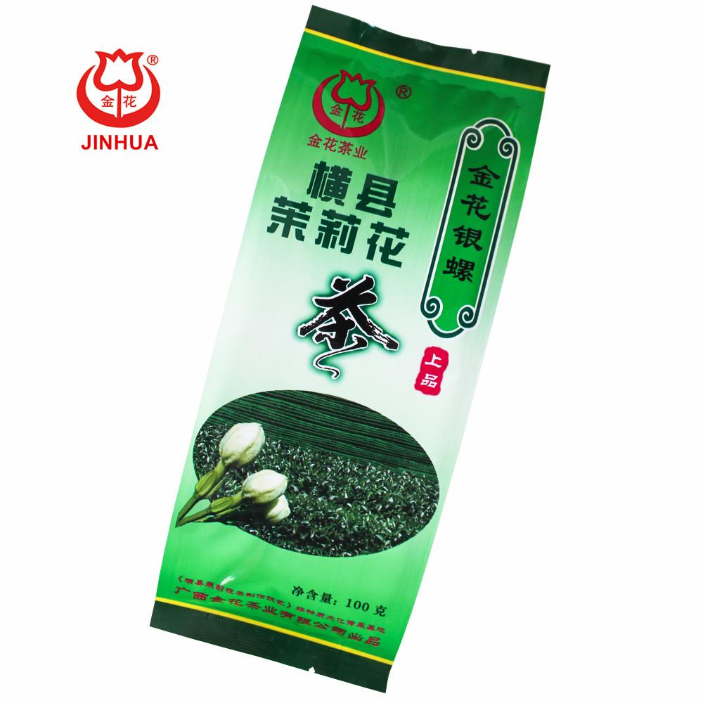 JINHUA Jasmine tea 100g baged Yinluo healthy tea China Factory - 4uTea   4uTea.com