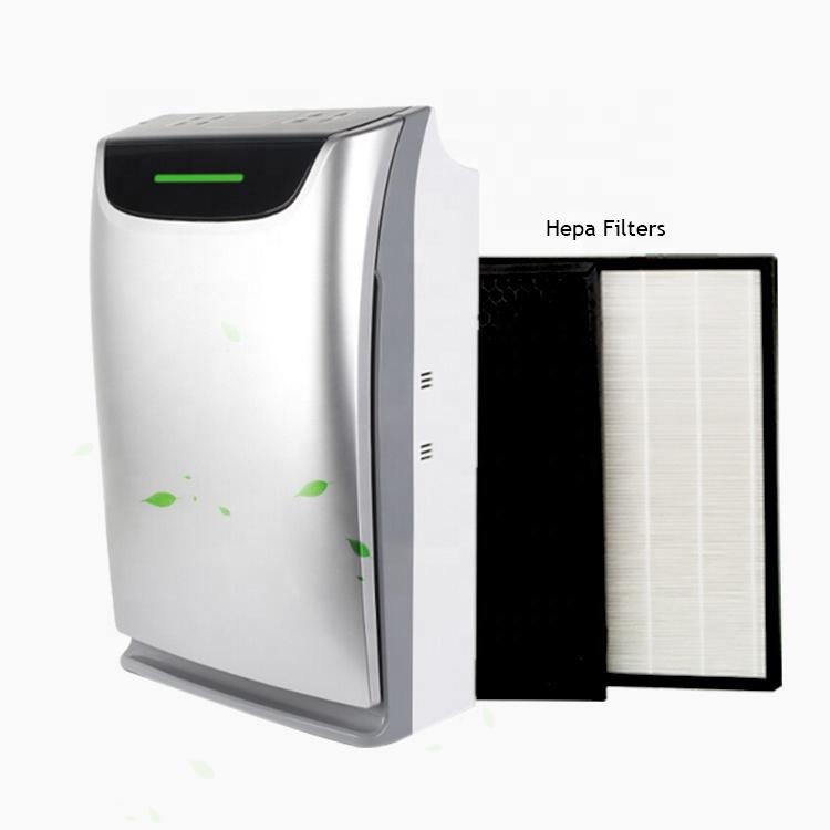 2019 Good Quality Negative Ion Odor Sensor Smart Hepa Blue Water Air Purifier