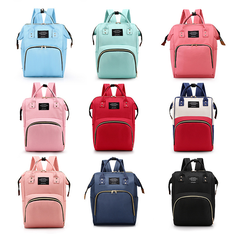 Factory directory cheap outdoor mummy baby diaper bag backpack for travel