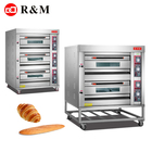 2 deck 4 trays gas Commercial french bread oven,gas french baguette bread oven