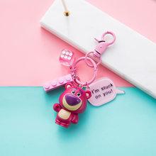 Креативные брелки с Дональдом Даком, мультяшная История игрушек, Базз Лайтер, Микки, брелок, милая сумка для влюбленных, аксессуары, кольцо д...(Китай)