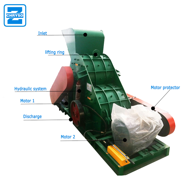 charcoal crusher machine with high good quality