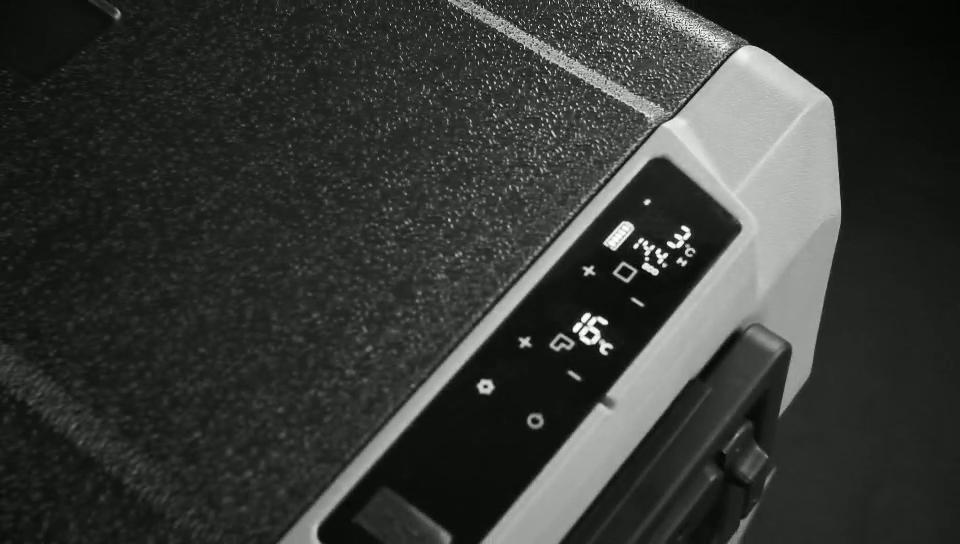 Argenté — réfrigérateur congélateur série T 60l, congélateur 12v, à batterie