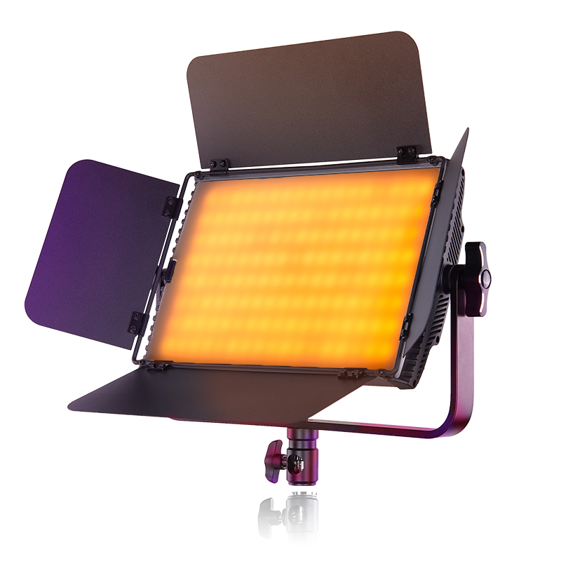 Tolifo 60W Rgb Dimmable Bi Color SMD Led Video Light Kit with Wireless  Remote|Stand and Battery