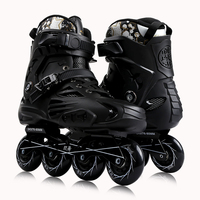High quality 4 PU wheels inline skates freestyle roller skates for kids and adults Integrated Die-casting Aluminium Alloy Frame