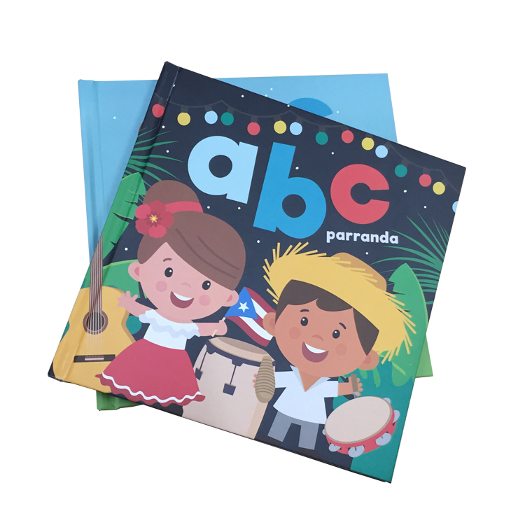 Customized high quality printing hardcover children Illustration picture books