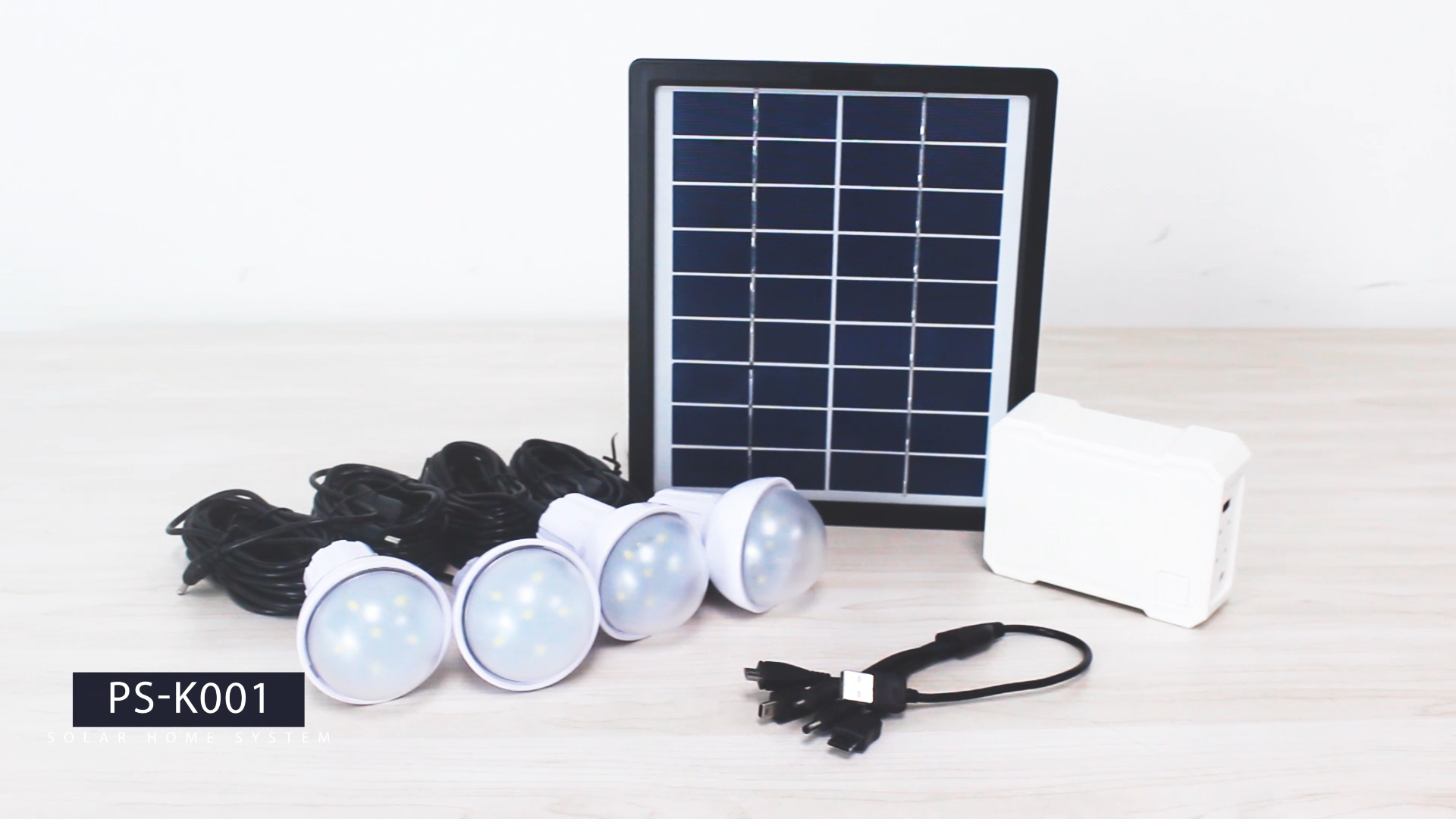 Rechargeable House Converting Complete Off-grid Sun Solar LED Light System Kit For Home Commercial