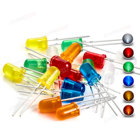 Led Red Led Lamp Diodes 100pcs 5mm LED Diode White Red Yellow Green Blue Orange Diffused Round Lens Super Bright 3V DIP Lamp 5 Mm Light Emitting Diodes
