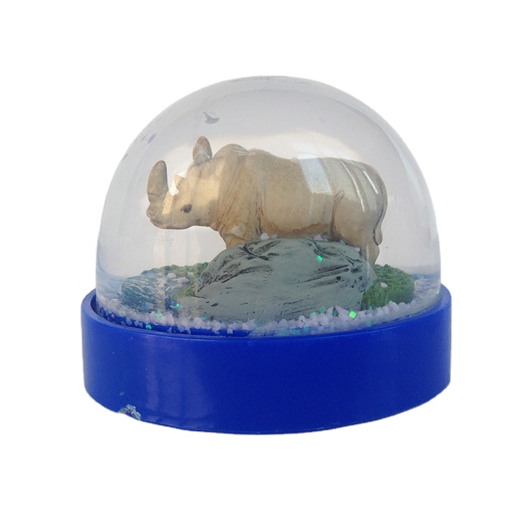 Qualidade Premium resina globo de Neve Urso Polar animal para presentes da promoção