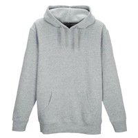 Custom Made 100%cotton Thick Winter Pullover Hooded Sweatshirt Brushed Fleece Hoody With Printing Logo