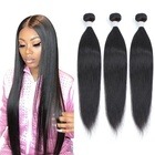 "Brazilian Hair Weaves Hot Beauty Wholesale 10""-40"" Silky Straight Cuticle Aligned Virgin Brazilian Hair Weaves Bundles Bulk Hair Human Hair Extension"