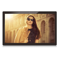 21.5 inch commercial lcd advertising media display, tft lcd digital signage player, open frame advertisement board