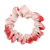 Wholesale High Quality Cotton Plaid Hair Scrunchies Colorful Simple Polyester Ponytail Holder Hair Ties For Kids
