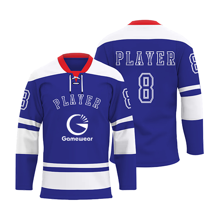 Custom Practice Sublimation Cheap Wholesale Blank Hockey Jersey