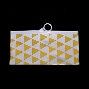 China Wholesale Clear Plastic Pvc Custom Pencil Bag Transparent Ziplock Bag Pencil Case